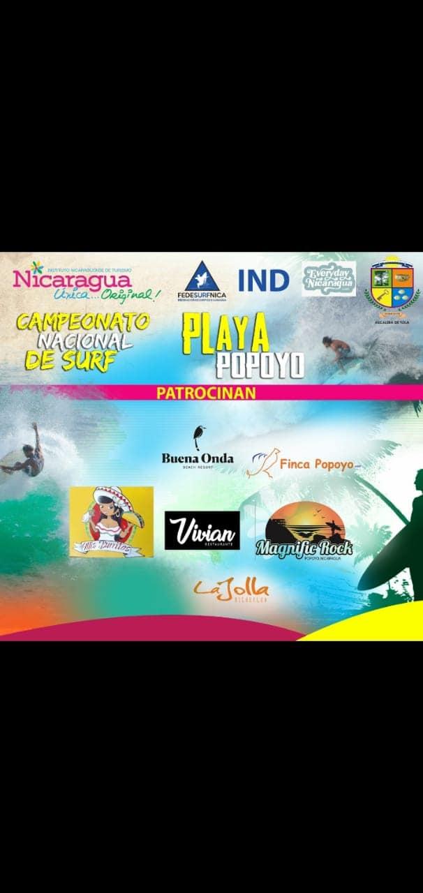 Nicaragua National Surf Championship - Popoyo Surf Team